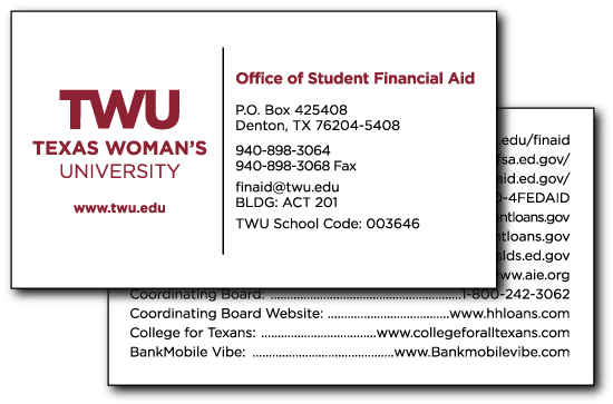 Twu online stationery store - Student financial aid office ...