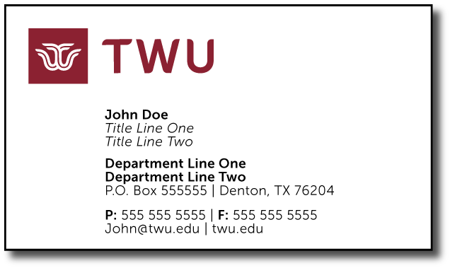 Twu online stationery store twu style a business card 2 titlesdepartments colourmoves
